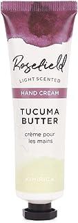 Kimirica Rosefield Tucuma Butter Hand Cream, 100% Vegan & Paraben Free, (30ml)