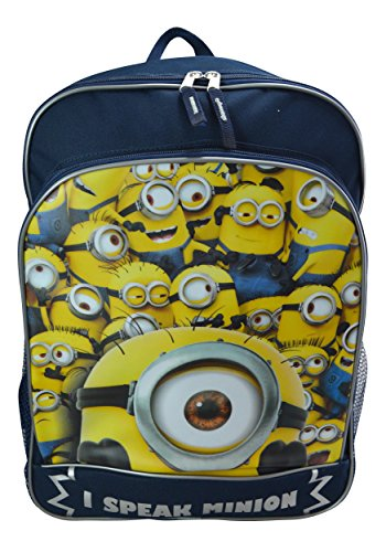 Despicable Me I Speak Minion Backpack