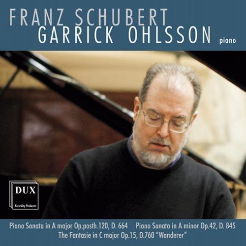 Schubert: Klaviersonaten D 664 & D 845 / Wandererfantasie D 760