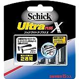 シック Schick ウルトラプラスX 2枚刃 替刃 (5コ入)