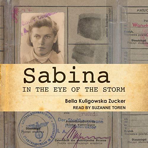 Sabina audiobook cover art