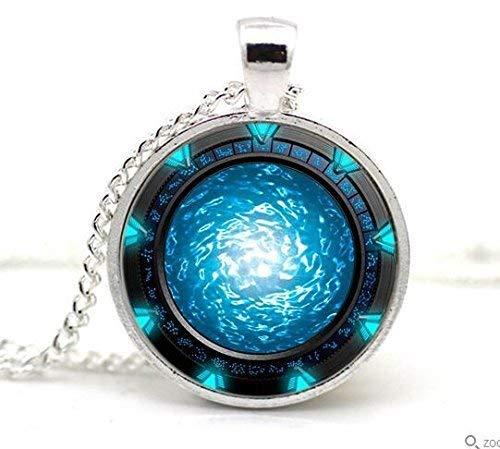 Stargate Portal Atlantis Halskette