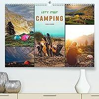 Let's start Camping (Premium, hochwertiger DIN A2 Wandkalender 2022, Kunstdruck in Hochglanz): Camping - wieder entdecktes und wieder geliebtes Urlaubsglueck. (Monatskalender, 14 Seiten )