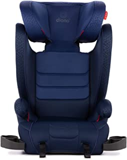 Diono Monterey XT Latch, 2-in-1 Expandable Booster Seat, Blue