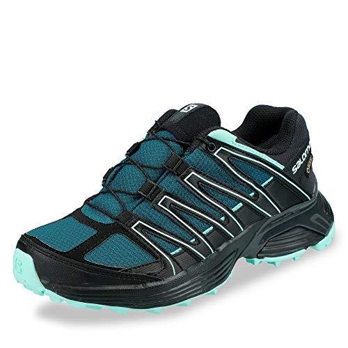 SALOMON L40743500 XT Asama Damen Gore-TEX® Outdoorschuh Mesh Ortho-Lite-Sohle, Groesse 38 2/3, blau/schwarz
