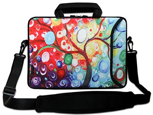 15' Laptop Shoulder Messenger Bag 14.1' 15.6' Laptop Notebook Case Cover Holder