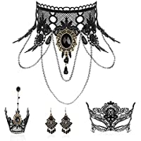 Makone Halloween Necklace Set