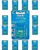 Oral B Satin Floss Mint 25m x 12 Packs by Procter & Gamble