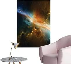 Wall Decals Astronomy Celestial Meteorite Supernova Dark Mysterious Space Picture Dark Environmental Protection Vinyl,24