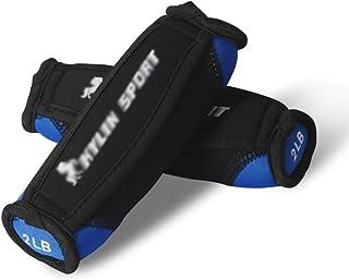 Small dumbbell Sandbag Dumbbells, With Hand-held Handrail Belt Aerobics Soft Dumbbells,for Men And Women Slimming Thin Arm...