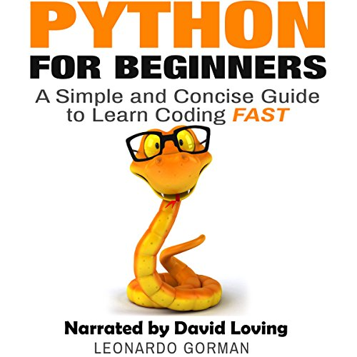 Python for Beginners audiobook cover art