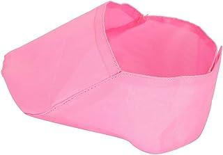 AMONIDA Romantic Gift Pet Cat Muzzle, Eyes Mouth Pink Pet Cat Eye Cover, Cat Muzzle Cover, for Pets Dogs(M)