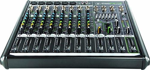 Mackie ProFX12v2 12canaux Noir - tables de mixage audio (12 canaux, 370 mm, 358 mm, 91 mm, 4,1 kg,...