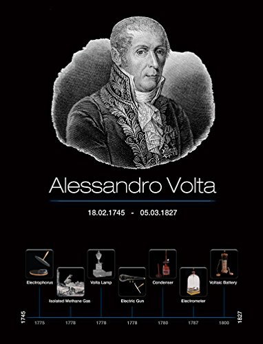 Alessandro Volta English Book (English Edition)
