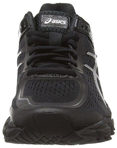 ASICS Gel-Kayano 22 - Zapatillas de Running para Mujer, Color Negro (Onyx/Silver/Charcoal 9993), Talla 35.5