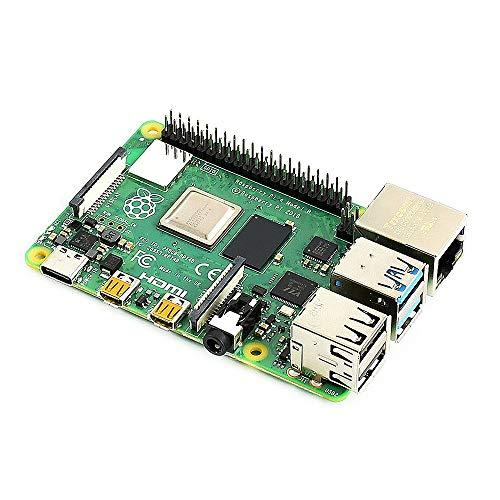 Docooler Raspberry Pi 4 Model B Entwicklungsplatine Erweiterungs-Motherboard mit BCM2711B0 SOC ARM Cortex-A72 Quad Core CPU 4 GB Speicher