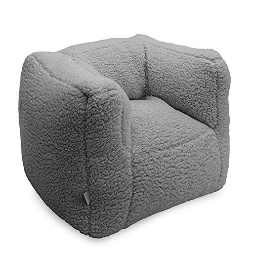 Jollein Kindersessel Beanbag Sitzkissen Sessel Teddy cream grey | 028-543-65367