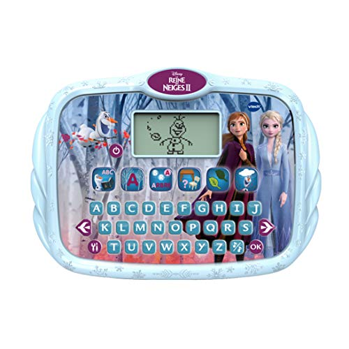 VTech - Reine des Neiges 2 - Super tablette éducative - Tablette enfant avec 7 activités – Version FR