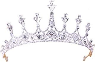 YNYA Tiare Sposa Crown Wedding Crown Wedding Dress Accessori per Capelli Princess Adult Birthday Crown Accessories Regali ...
