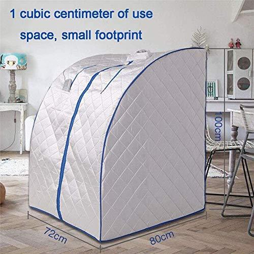 Familie mobile Sauna, leicht zu transportieren und zu speichern Dampfsauna faltenden Haupt Far Infrared Sauna Box Anhydrous Dry Steaming Zimmer Dampf aus für eine gute Gesundheit und entwickeln ein gu