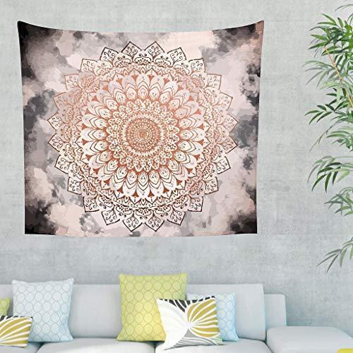 JEFFERS Nieuwe Woonkamer Sofa Achtergrond Fantastische Rose Nacht Mandala Thuis Beddengoed Decoraties Boheemse Rechthoek Kunsten Tapestry Tafelkleed Dorm Decor