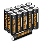 16 Piezas Shentec Pilas Recargables AA Batteries 1.2V 2500mA