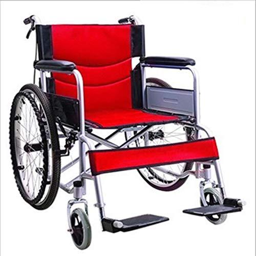 L-Y Folding Old People's Eenvoudig voor de Ouderen Rolstoelen te versterken Draagbare Handicapped People's Handkarren In plaats van fietsen