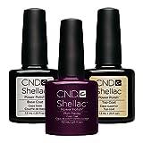 CND Shellac Top coats