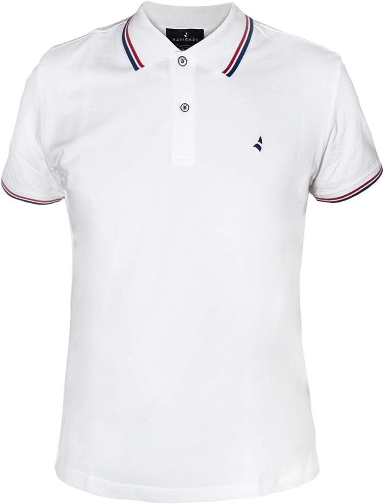 Navigare polo maglietta a maniche corte da uomo 100% cotone PoloNav82110_3_4