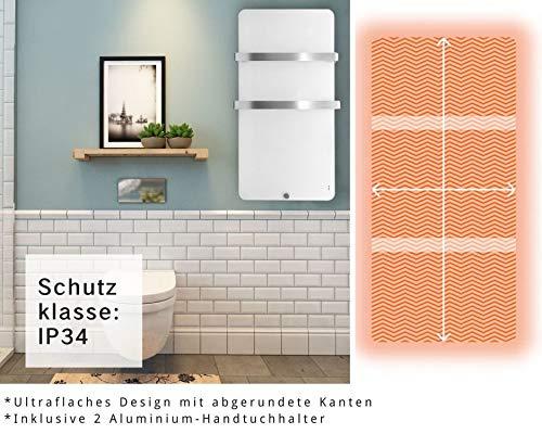 Heizkörper Infrarotheizung Elektroheizkörper Handtuchtrockner Elektrisch Handtuchwärmer Bild 3*