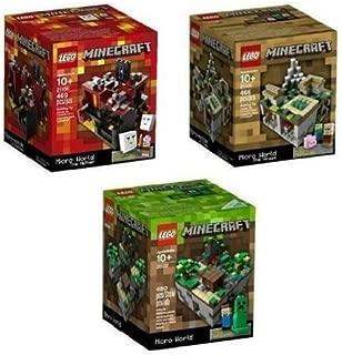 LEGO Minecraft Set Lego Minecraft Collection 3 Set [21102, 21105, 21106]