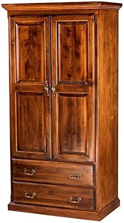 Forest Designs Traditional latest Bombing new work Antique Wardrobe with 36 Drawers Two