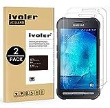 ivoler [Pack de 2] Verre Trempé Compatible avec Samsung Galaxy Xcover 3 [Garantie à...