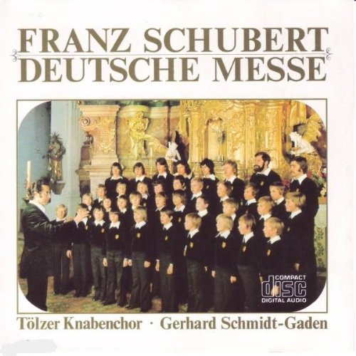 Zum Gloria Deutsche Messe Franz Schubert German Mass (Ehre, Ehre Sei Gott)