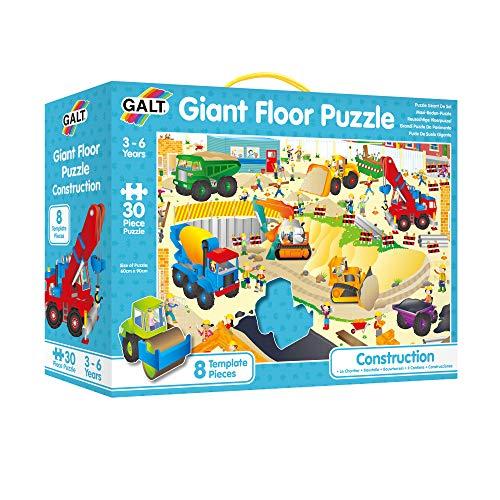 Galt 20838 - Maxi Bodenpuzzle, Die grosse Baustelle