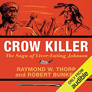 Crow Killer audiobook cover art