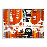 Stupell Home Décor Burnt Orange Momentum Wall Plaque Art, 10 x 0.5 x 15, Proudly Made in USA