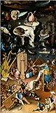 Poster 50 x 100 cm: Garten der Lüste, die Hölle von