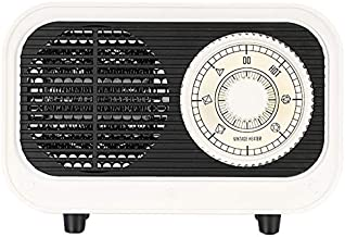 Estufa eléctrica de invierno blanca en forma de 500 W, calentamiento rápido y eléctrico de securidad, calentador de escritorio 220 V