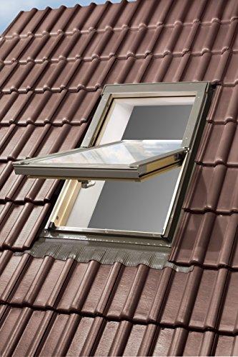 Kronmat Optilight Dachfenster mit Eindeckrahmen 78x118 Fakro Konzern