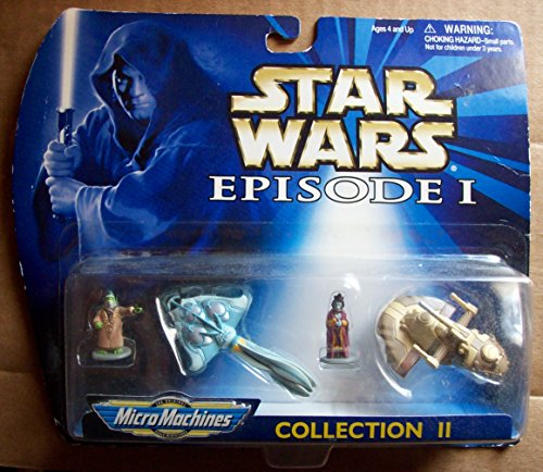 Star Wars Episode 1 – Micro Machines 66502 – Collection II