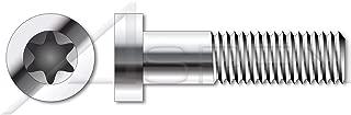 (1000 pcs) M3-0.5 X 8mm, ISO 14580, Metric, Low Head 6-Lobe Torx(r) Socket Cap Screws, A2 Stainless Steel