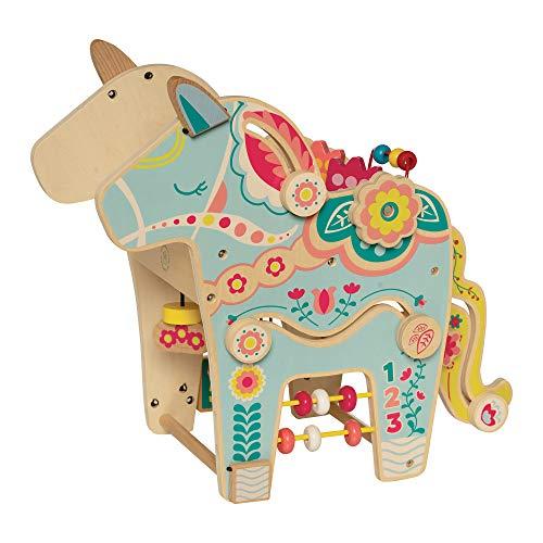 Centre d'Activités en Bois pour Tout-Petits en Poney Espiègle de Manhattan Toy