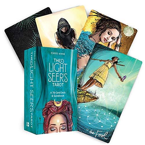 XINKANG Tarot-Karten 78pcs Light Seer's Tarot Kartenspiele Full English Tarot Brettspiel Family Party Kartenspiel Holiday Spielkarten Brettspiele Set