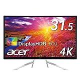 Acer 4KHDR対応モニター ET322QKCbmiipzx