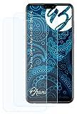 Bruni Schutzfolie kompatibel mit Asus ZenFone Max Pro (M2) ZB631KL Folie, glasklare Bildschirmschutzfolie (2X)