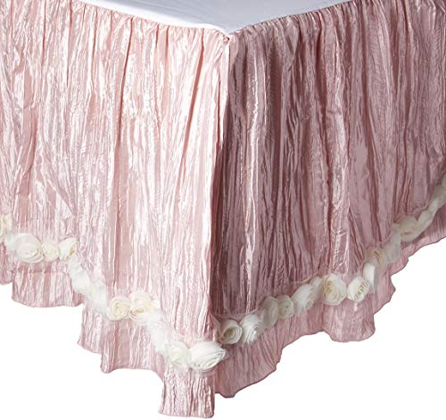 Check Out This Glenna Jean Contessa Crinkle Skirt with Roses, Queen, Pink/Cream