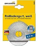 Schellenberg 36003 Rollladengurt 23 mm x 6,0 m - System MAXI, Rolladengurt, Gurtband, Rolladenband