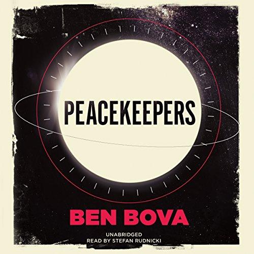 Peacekeepers audiobook cover art