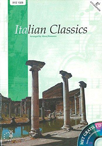 Italian Classics Es - Alto Saxophone, Bariton Saxophone, Eb Horn and Piano - Buch + CD